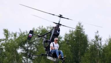 """Гирокоптер """"Микрон"""" - миниатюрный вертолет"""