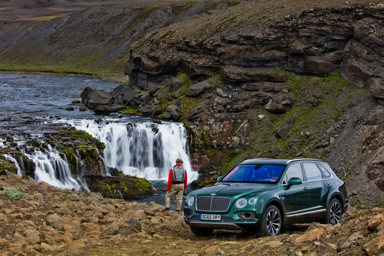 Bentley представил роскошный внедорожник для любителей рыбалки