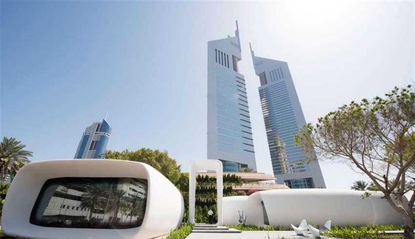 В Дубае появилось первое в мире здание, напечатанное на 3D принтере