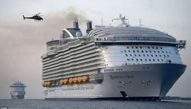 """Harmony of the Seas (""""Гармония морей"""") - Самый большой лайнер в мире"""