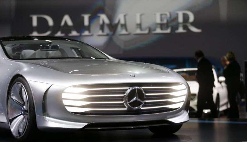 Mercedes станет достойным конкурентом Tesla
