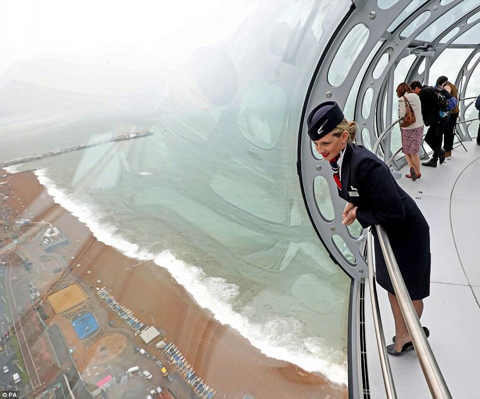 British Airways i360. Прогулка по небу