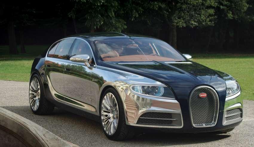 Bugatti готовится к выпуску одной из четырех новых моделей