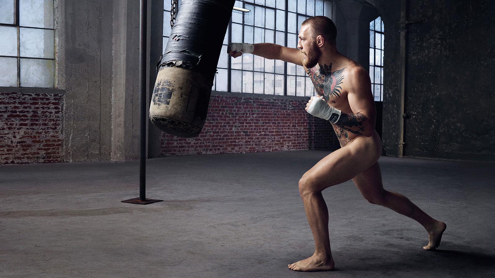 Conor McGregor. В ежегодной фотосессии Body Issue для журнала ESPN приняли участие 20 известных спортсменов