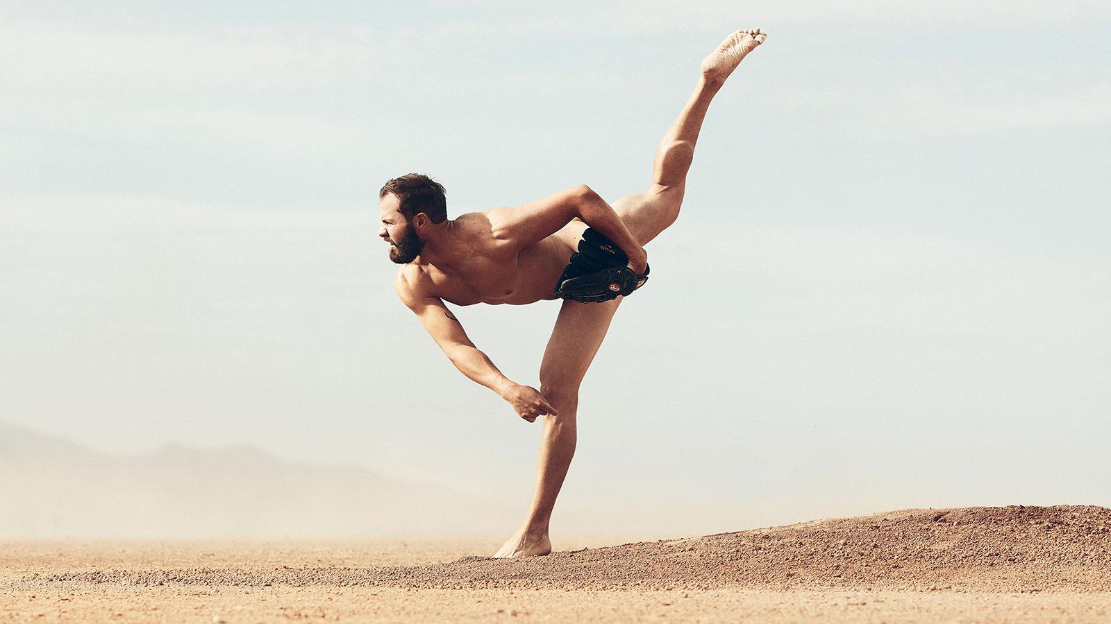Jake Arrieta. В ежегодной фотосессии Body Issue для журнала ESPN приняли участие 20 известных спортсменов