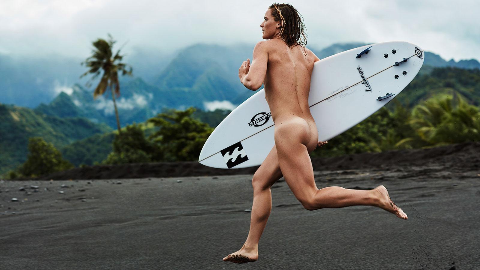 Courtney Conlogue. В ежегодной фотосессии Body Issue для журнала ESPN приняли участие 20 известных спортсменов