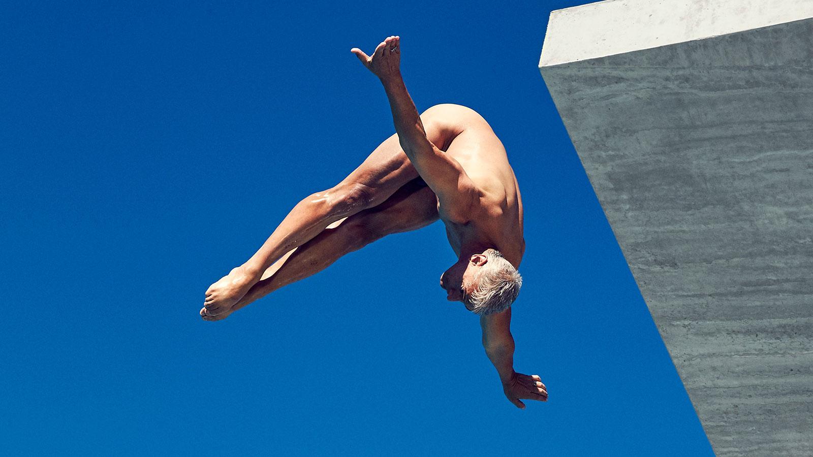 Greg Louganis. В ежегодной фотосессии Body Issue для журнала ESPN приняли участие 20 известных спортсменов