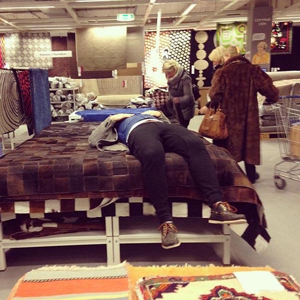 С мужем по магазинам