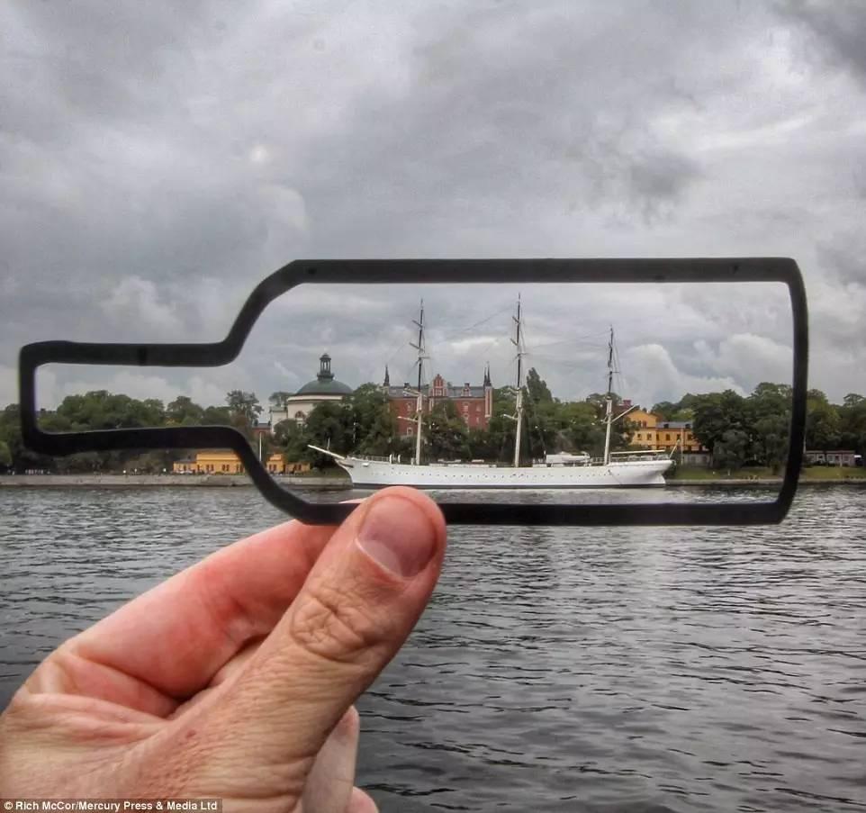 Фотограф Рич МакКор предлагает по-новому взглянуть на окружающий мир
