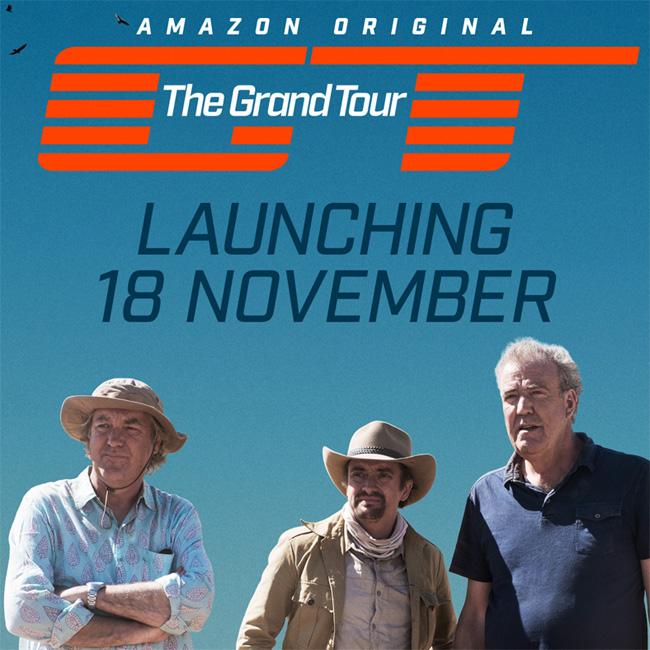"""Первый выпуск автошоу """"The Grand Tour"""" выйдет 18 ноября на Amazon Prime"""