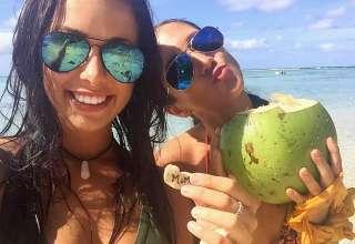 Mélina Roberge и Isabelle Lagace. В их багаже обнаружили кокаин на сумму $ 30 млн.