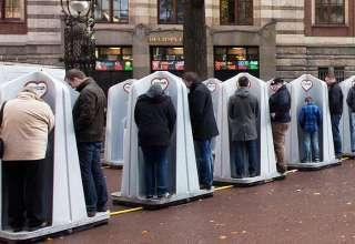 Провокационные туалеты появятся на улицах Москвы