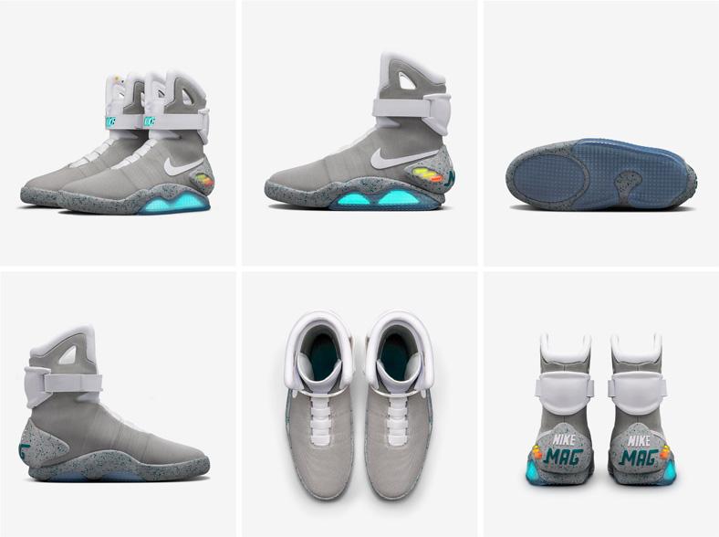 """Будущее уже наступило. 89 счастливчиков получат """"умные"""" кроссовки Nike из фильма """"Назад в будущее"""""""