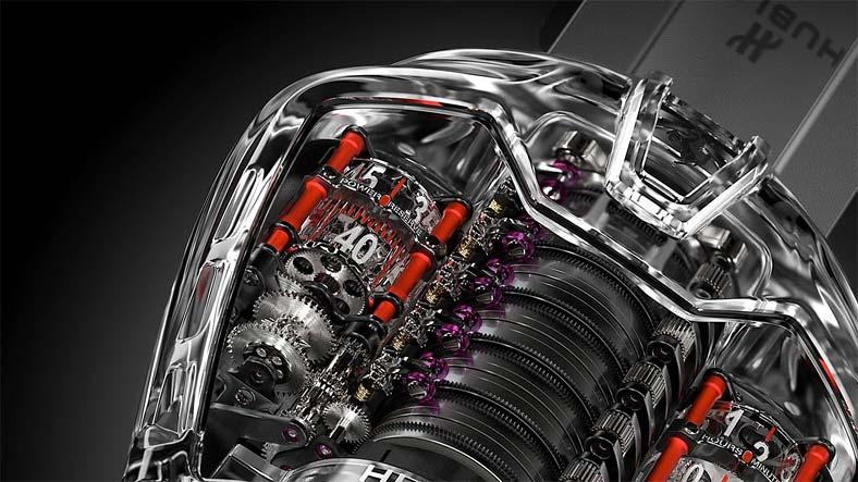 """Турбийон HUBLOT """"MP-05 LaFerrari Sapphire"""" стал изящным дополнением Ferrari FXX K"""