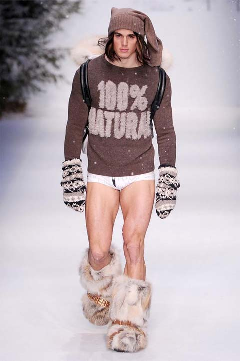 Нелепая мужская мода