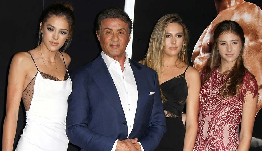 """Сразу все три дочери Сильвестра Сталлоне были избраны """"Мисс Золотой глобус 2017"""""""
