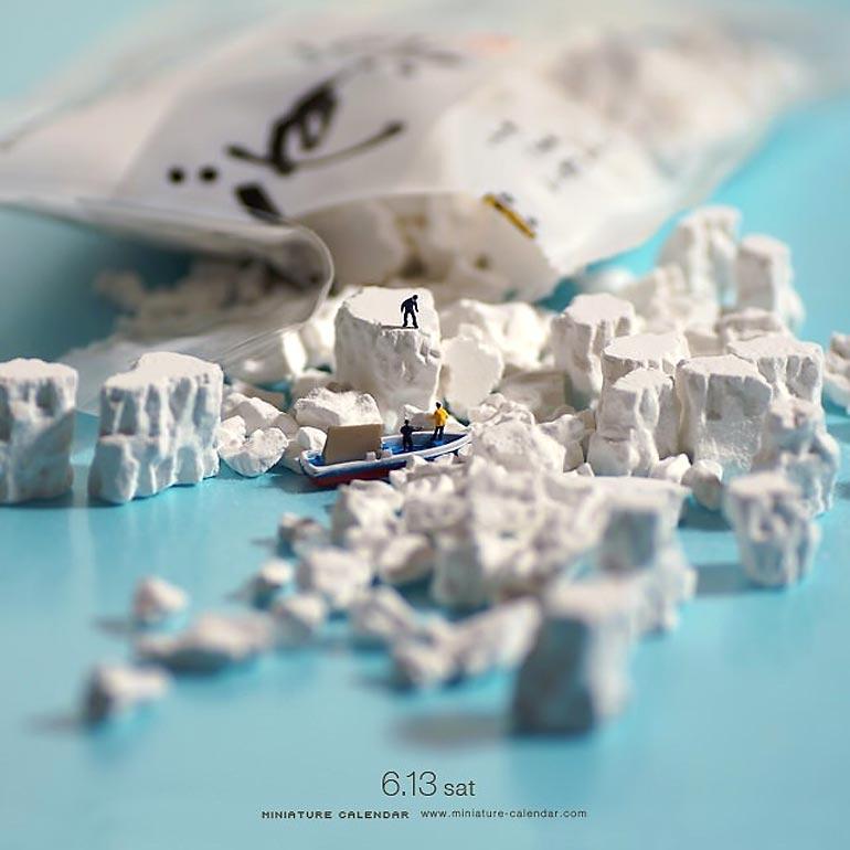 Забавные диорамы и безграничная фантазия Тацуя Танака (38 фото)