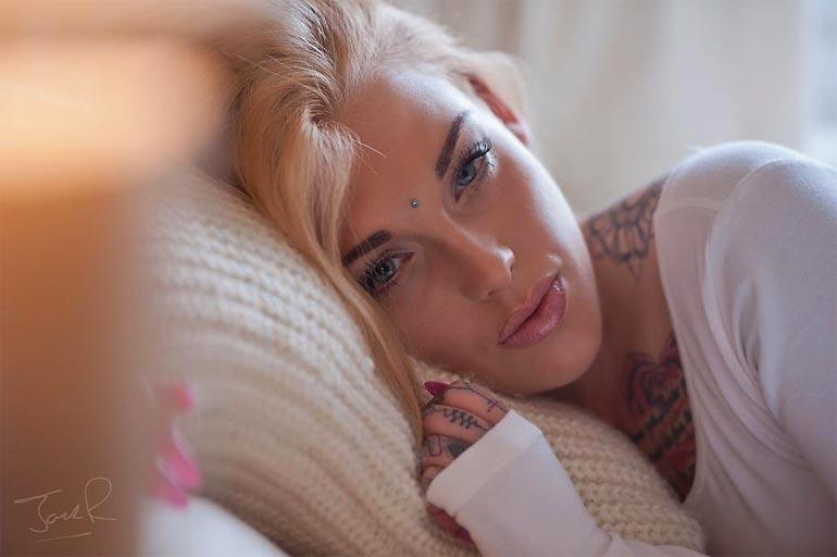 Татуированные девушки: Lauren Brock (38 фото, 18+)