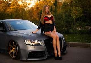 Софья Темникова - сексуальная модель, влюблённая в автомобили (39 фото)