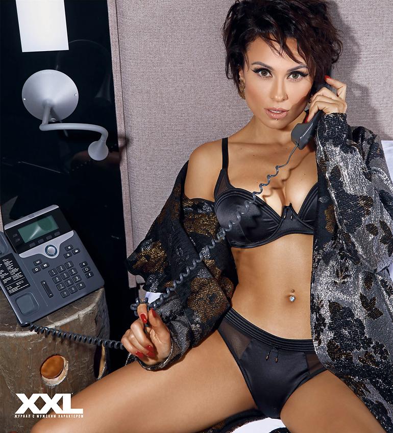 Анастасия Кумейко в откровенной фотосессии для XXL Украина (9 фото)