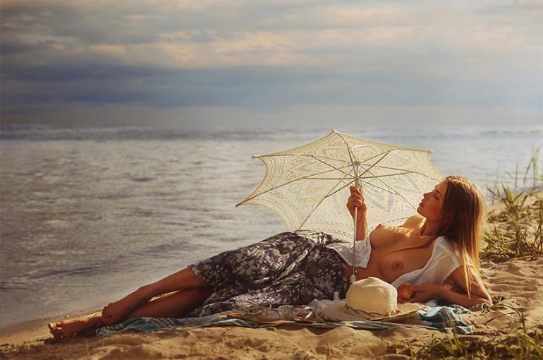 Женская красота в фотографиях Давида Дубницкого (21 фото, 18+)