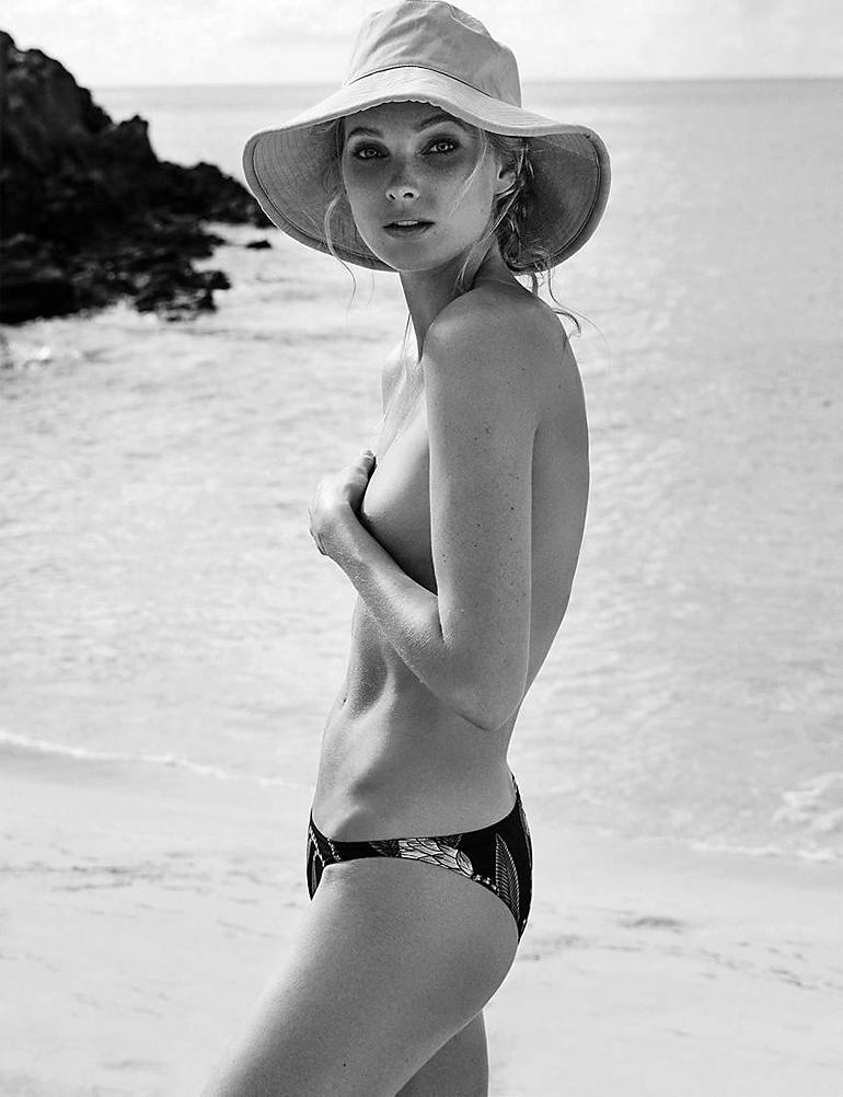 Эльза Хоск в откровенной фотосессии для журнала Madame Figaro (17 фото, 18+)