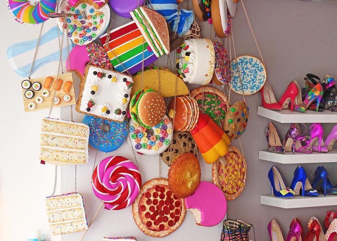 Эксклюзивные сумки, которые заставят вас проголодаться (25 фото)