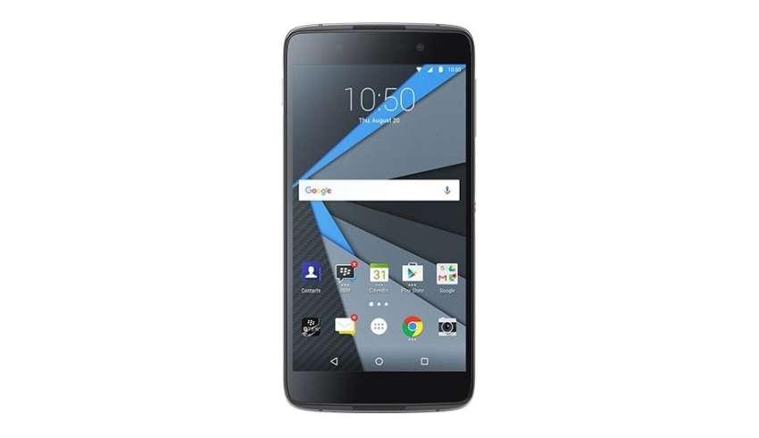 """DTEK50. BlackBerry заявляет, что её новый смартфон """"самый безопасный в мире"""""""