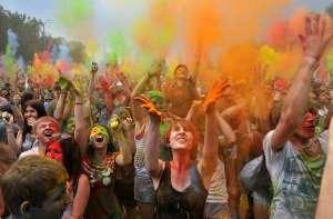 Всероссийский фестиваль красок ColorFest!