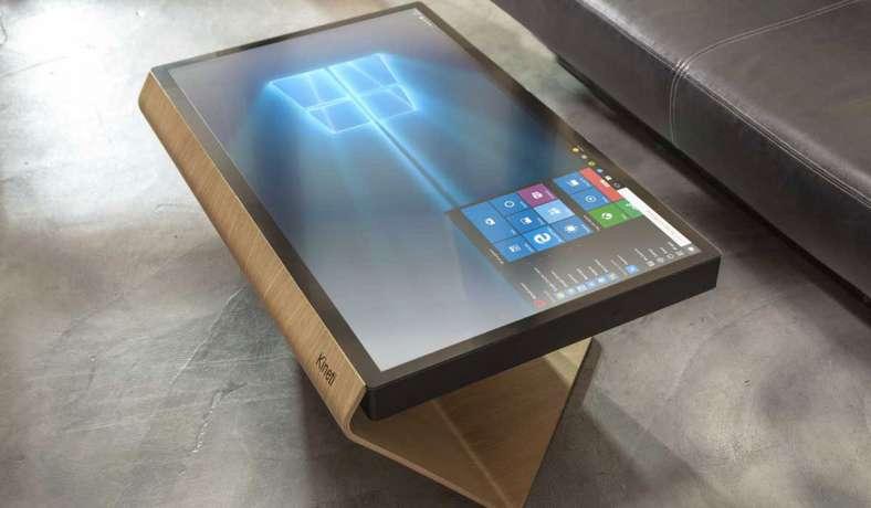 KINETI Technologies создала мультимедийный сенсорный стол на базе Windows 10