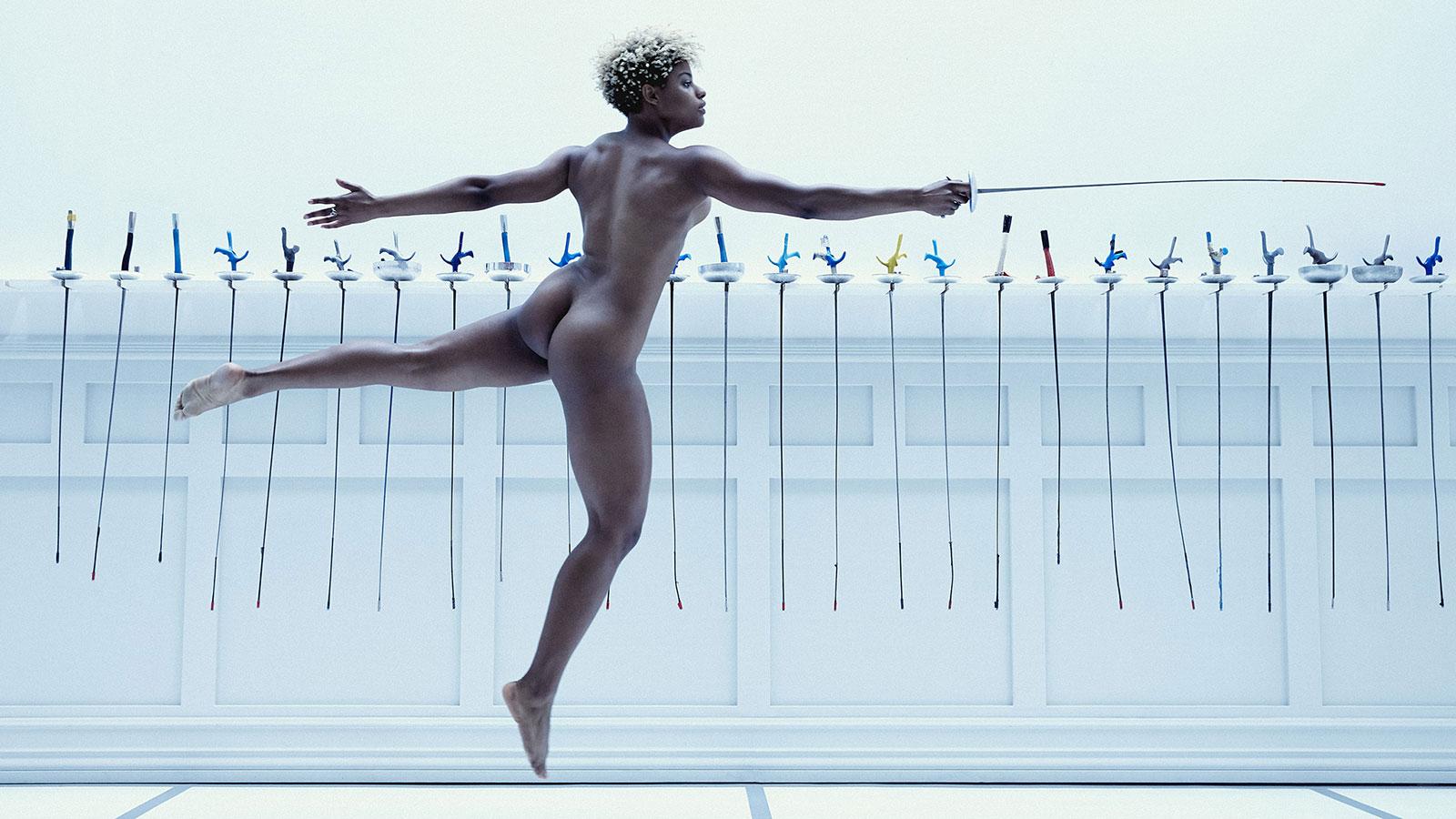 Nzinga Prescod. В ежегодной фотосессии Body Issue для журнала ESPN приняли участие 20 известных спортсменов
