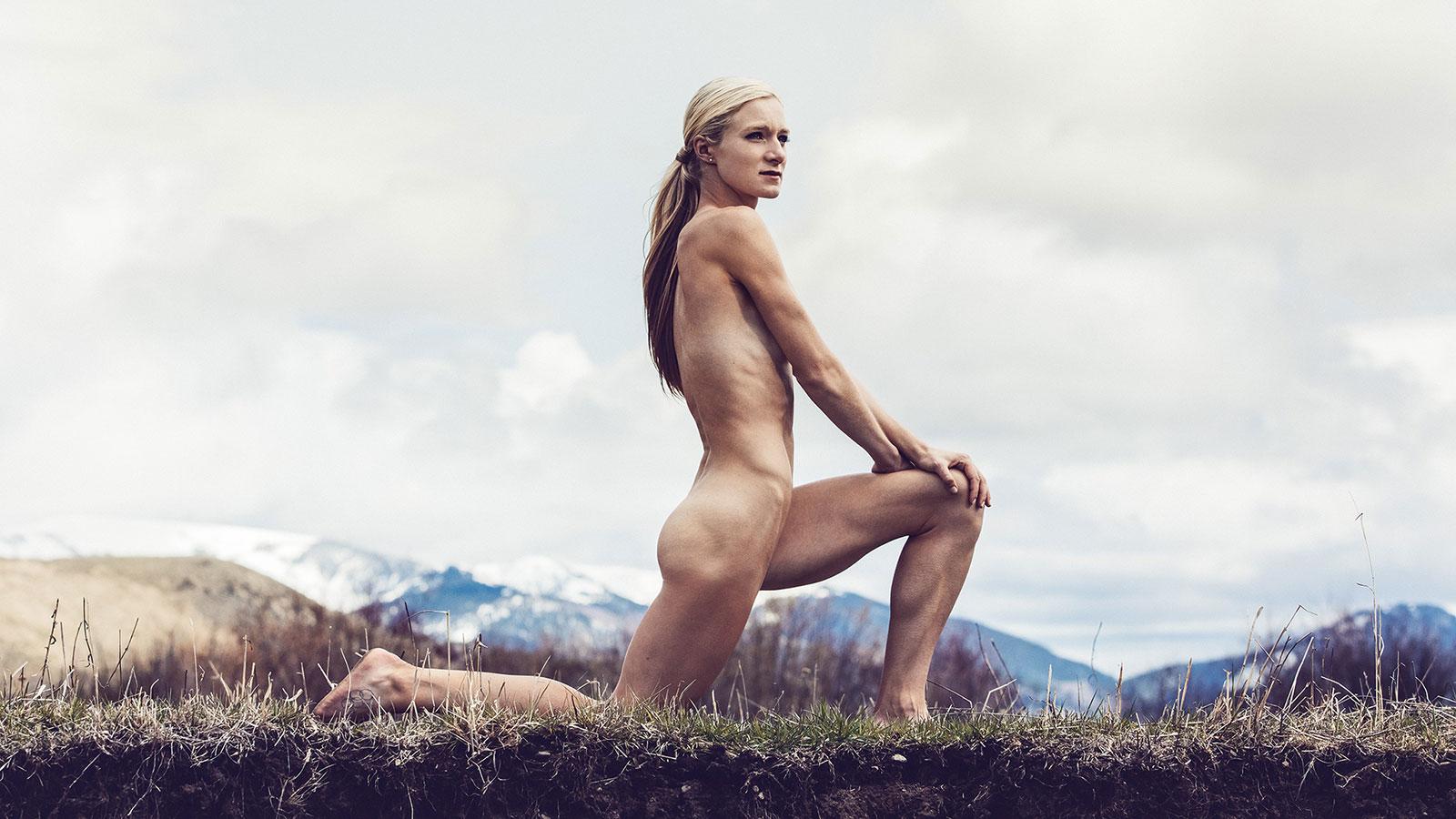 Emma Coburn. В ежегодной фотосессии Body Issue для журнала ESPN приняли участие 20 известных спортсменов