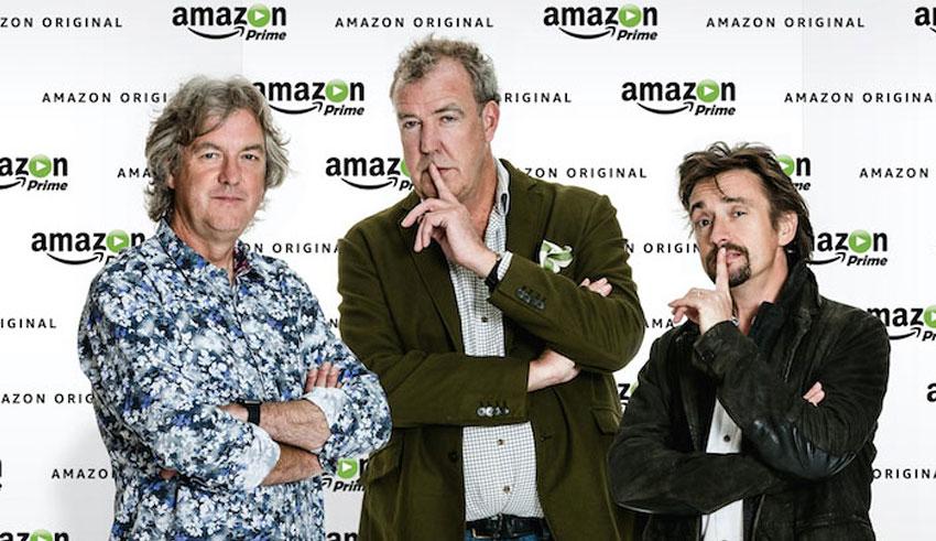 Jeremy Clarkson/James May/Richard Hammond/Amazon/The Grand Tour