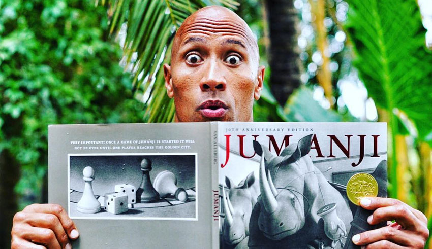 Dwayne Johnson/JUMANJI/Джуманджи