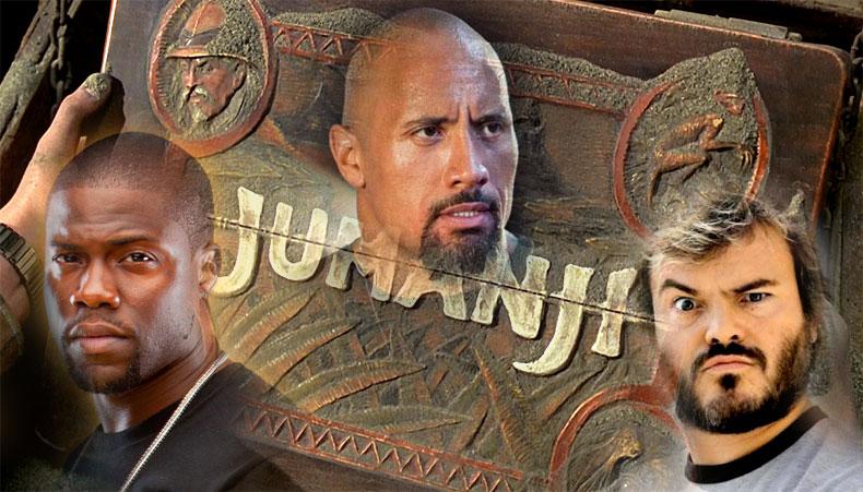 """Дуэйн """"Скала"""" Джонсон сыграет новую партию в """"Джуманджи"""""""