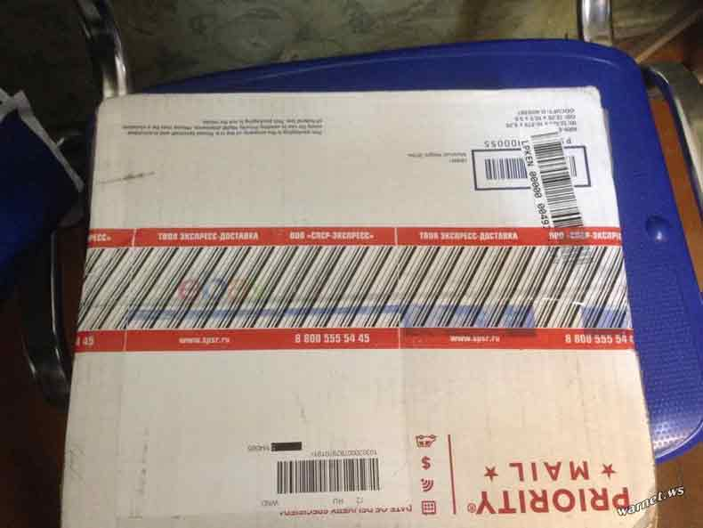 Три кирпича вместо планшета получил россиянин по почте
