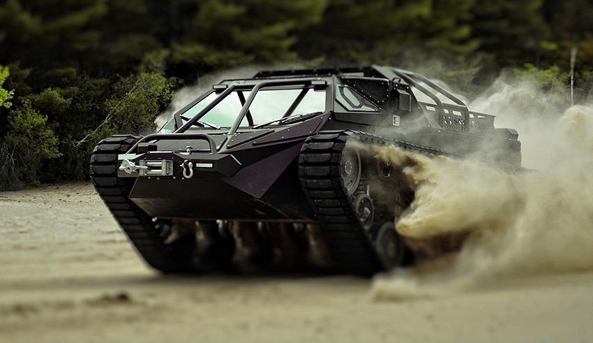 Зачем нужен Ferrari, когда можно купить себе танк?