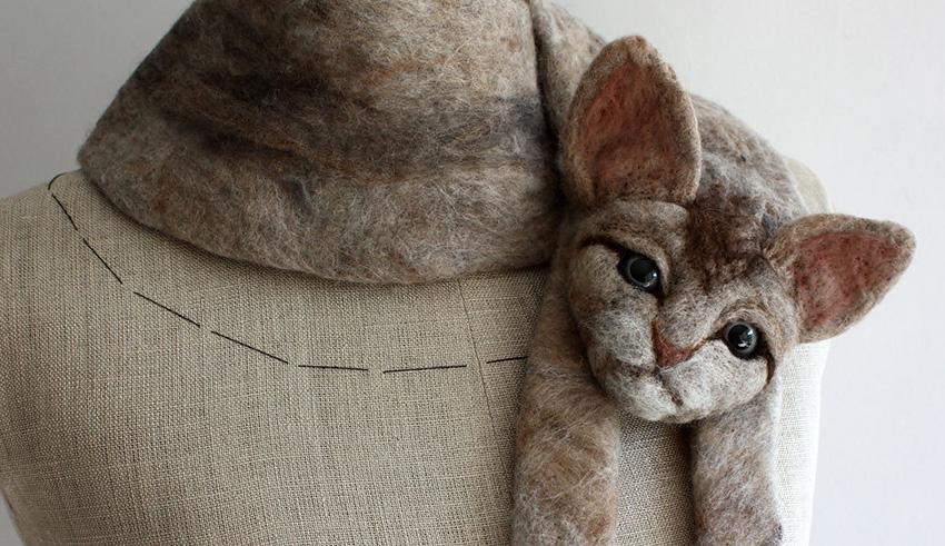 Celapiu - Кот на шее поможет согреться и улыбнуться