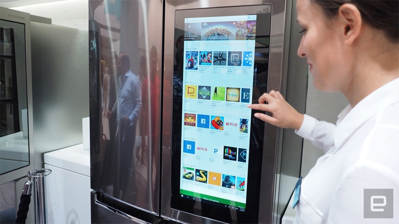 LG Smart InstaView Door-In-Door