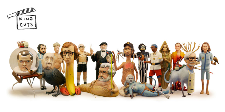 Скульптуры Стивена Спилберга, Джорджа Лукаса и других режиссёров в образах героев своих фильмов
