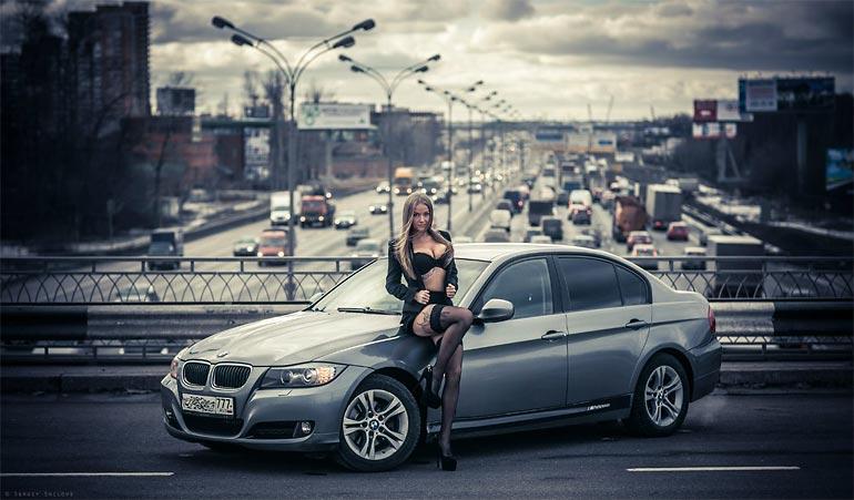 Софья Темникова - девушка, влюблённая в автомобили (39 фото)